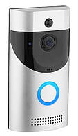 Домофон RIAS Smart Doorbell CAD B30 1080p с Wi-Fi Silver-Black (3_00248)