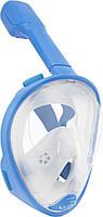 Полнолицевая маска для плавания Free Breath M2068G XS Blue (3_00170), фото 1