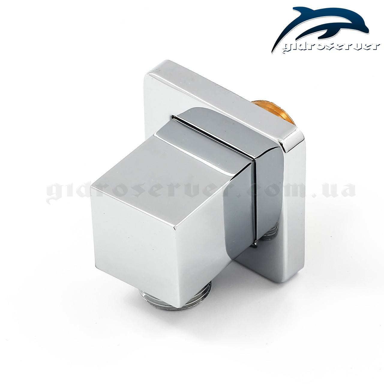 Подключение душевого шланга для лейки ручного душа UD-16