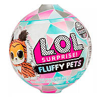 Кукла Пушистый Питомец ЛОЛ Fluffy Pets LOL Pets Surprise Winter Disco 559719