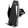 Автодержатель с беспроводной зарядкой RIAS S5 Black (3_00075)