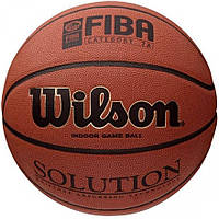 Баскетбольный мяч Wilson SOLUTION FIBA SZ 7 BSK SS14