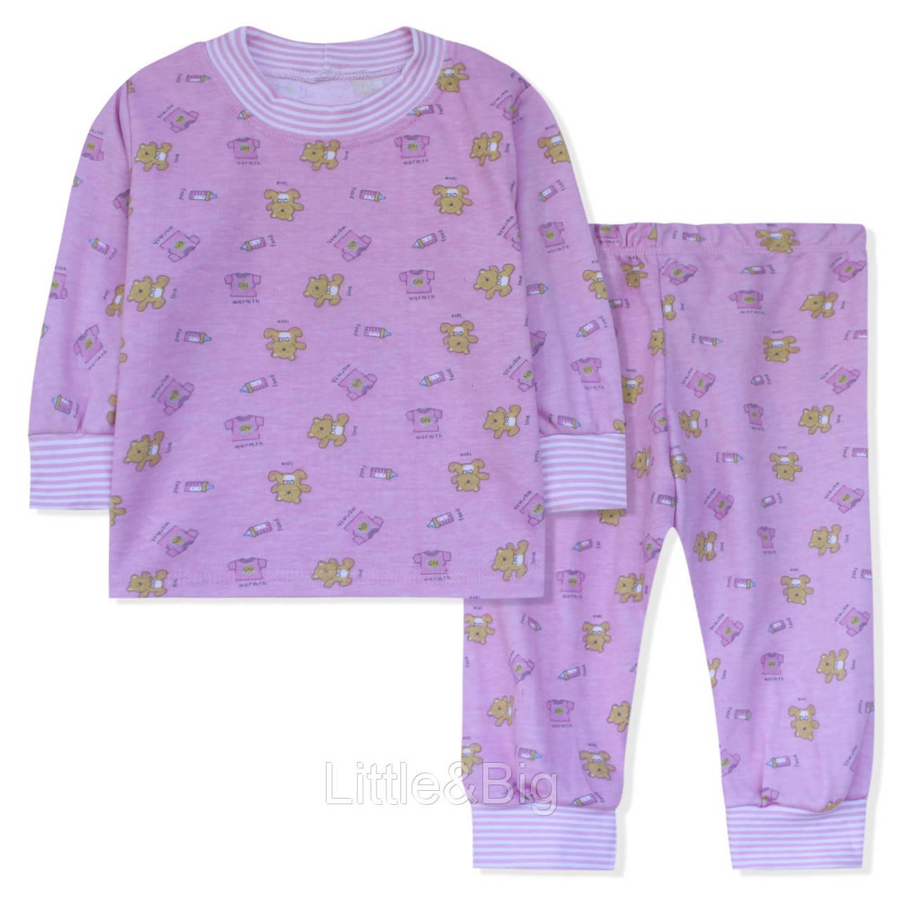 Пижама для девочки, розовая.