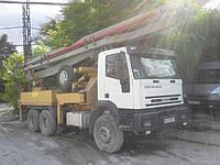 Услуги автобетононасоса 37м