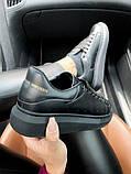 Стильні кросівки Alexander McQueen Black (Олександр Маквин), фото 7