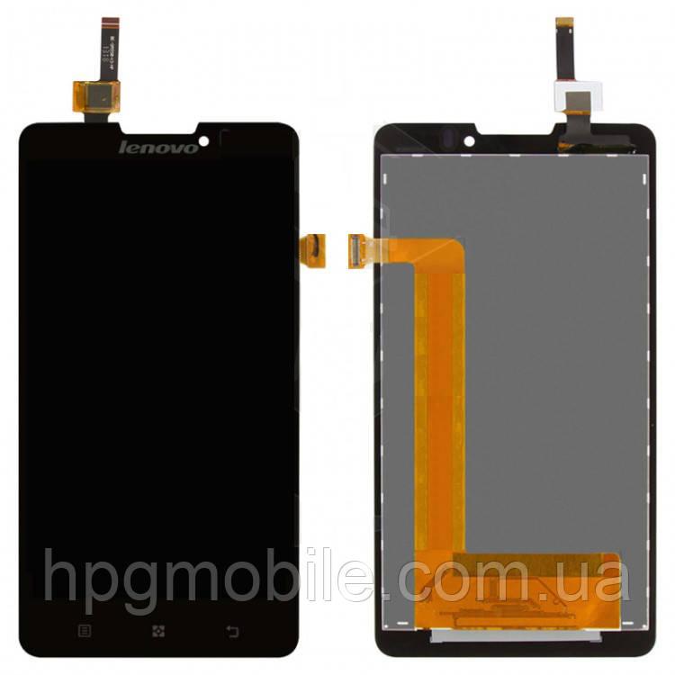 Дисплейный модуль (дисплей + сенсор) для Lenovo P780, черный, оригинал - HPG Mobile. Комплектующие, запчасти, аксессуары и другие товары по лучшим ценам в Харькове