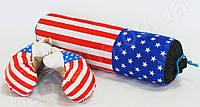 Набор боксерский СРЕДНИЙ_ USA (груша 44 см. + пара перчаток)