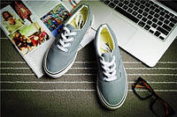Кеды мокасины спортивная обувь Vans  39, серый