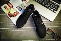 Кеды мокасины спортивная обувь Vans  44, полностью черный