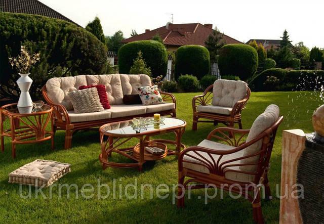 Плетеная мебель для вашего отдыха