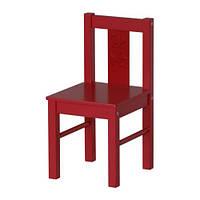 """IKEA """"КРИТТЕР"""" Детский стул, красный"""