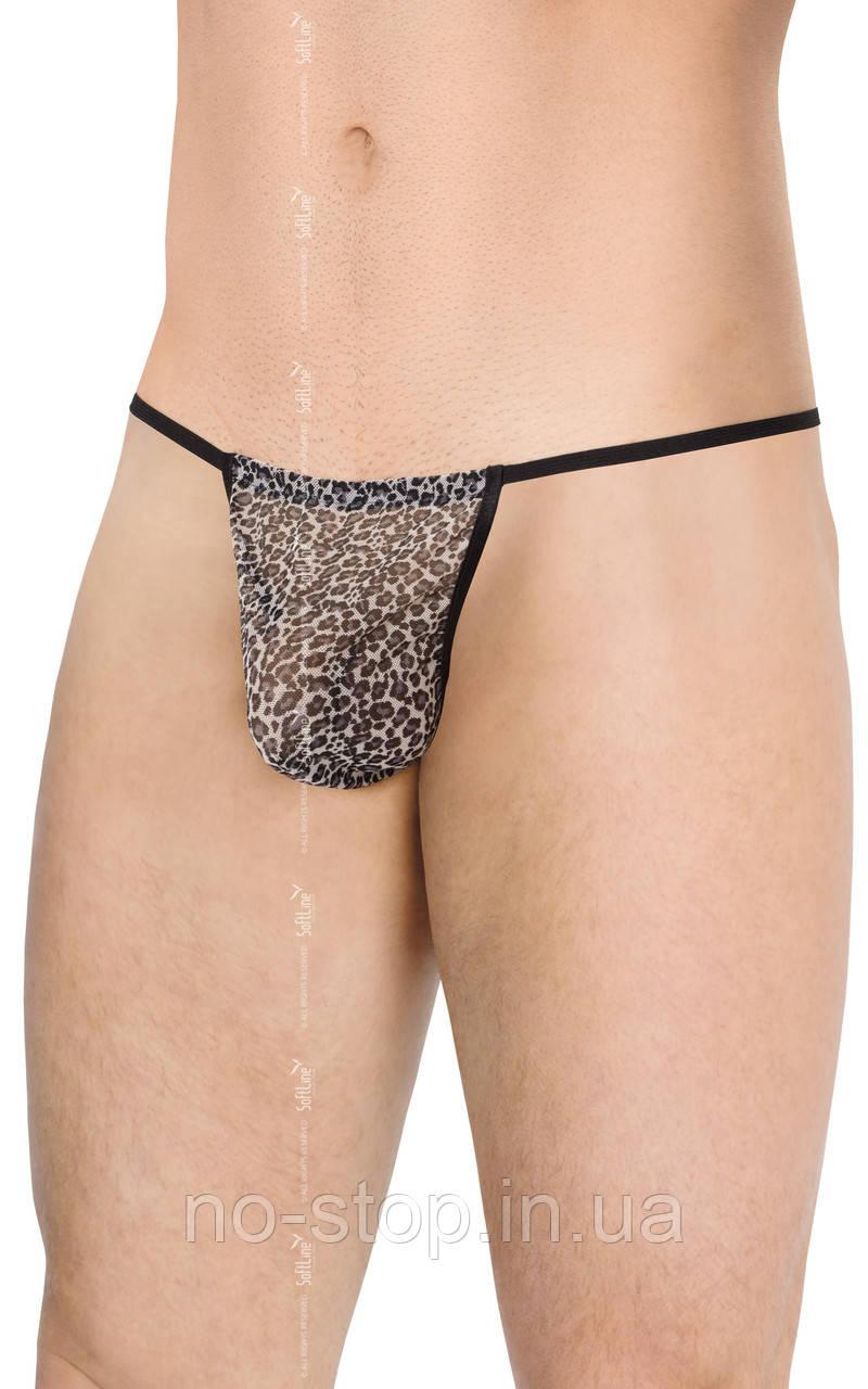 Mens Thong 4531 - grey panther {} OneSize