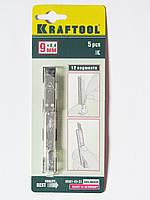 Лезвие KRAFTOOL сегментированное 12 сегм, 9х85х0,4мм, 5шт