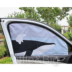 Защитная шторка для автомобиля. Кит.