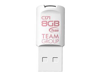 Флеш-накопитель USB 8GB Team C171 White (TC1718GW01)