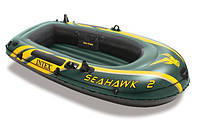 Надувная лодка intex SeaHawk-2 (до 200 кг)