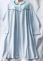 """Ночная рубашка женская батальная, длинный рукав, размеры L-3XL (3 цв) """"SHELLY"""" недорого от прямого поставщика"""