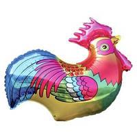 Качество! Воздушный шар из Фольги для Декора FM Мини-фигура Петушок 33см X 35см
