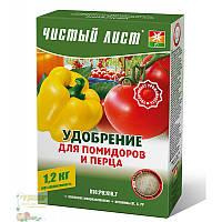 Добриво Чистий Лист кристалічне (для томатів і перцю), 1,2 кг
