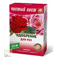 Добриво Чистий Лист кристалічне (для троянд), 1,2 кг