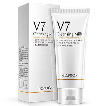 Пенка-молочко для умывания с витаминным комплексом ROREC V7 Cleansing Milk 100 мл