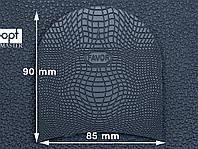 Набойка резиновая FAVOR-рептилия, т. 6.6 мм, р.средний, цв. черный