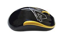 Мышь беспроводная A4Tech G3-300N Black/Golden USB V-Track