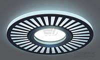 Светильник точечный Gauss Backlight с LED-подсветкой 3 Вт GU5.3 4000 К черный BL135 T31334189