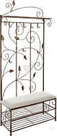 Вешалка для одежды Метал Арт 40511089 пристенная Мимоза коричневый T517308