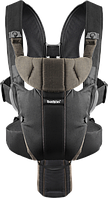 Рюкзак-кенгуру BabyBjorn Carrier Miracle Black/Brown, organic