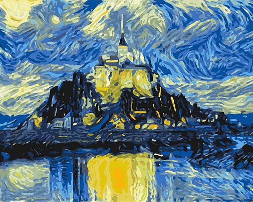 """Картина по номерам. """"Магический замок"""" 40*50см KHO2742, фото 2"""