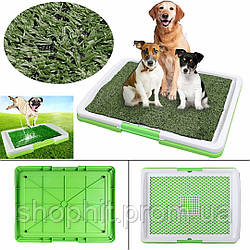 Собачий туалет, Туалет для собак Puppy Potty Pad, Лоток для щенков, Домашний туалет лоток для собак