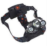 Налобный фонарик BL POLICE 6811 3 диода ОРИГИНАЛ (3_1064), фото 1
