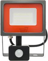 Прожектор с датчиком движения Jazzway PFL-SC 30 Вт IP54 серый 5001411 T30903522