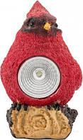 Светильник на солнечной батарее Ecostrum LED Птичка 1,2 Вт IP44 красный PR01-R T30939031