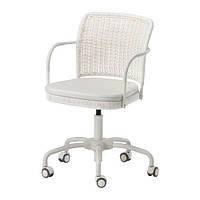 "IKEA ""ГРЕГОР"" Рабочий стул, белый, светло-бежевый"