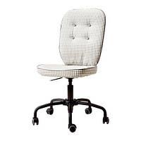 """IKEA """"ЛИЛЛХОЙДЕН"""" Рабочий стул, серый с орнаментом с рисунком"""