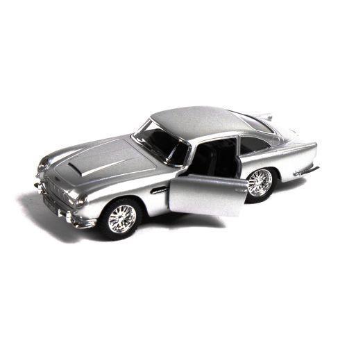 Машинка KINSMART Aston Martin Vulcan (серебристая) KT5406W