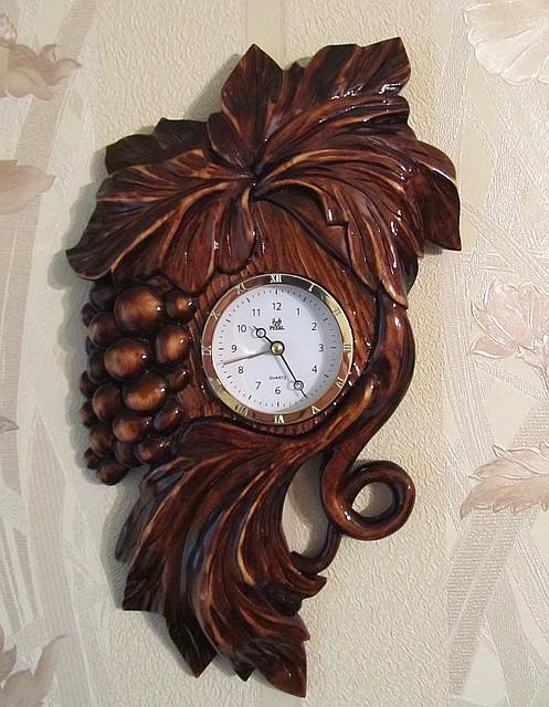 Часы настенные, ручной работы, фото 1