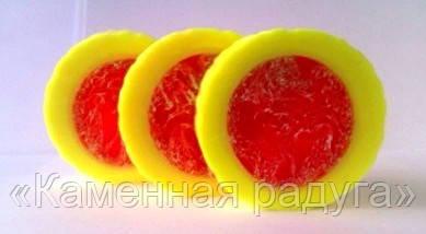 Мыло-мочалка круглое (с люфой)
