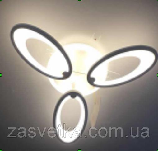 Люстра потолочная светодиодная V4004-3 69W ДИММЕР +ПОДСВЕТКА