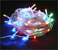 Новогодняя гирлянда LED свечение 300 ламп 13,5 метров