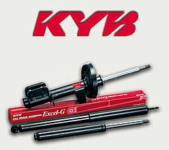 Kayaba Амортизатор 341743 Excel-G газомасляний передній для AUDI A6 (4G2, C7, 4GC) (2010/11 - 2012/05)