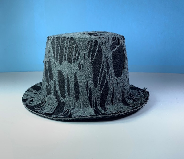 Шляпа цилиндр в паутине, склад 1 шт.