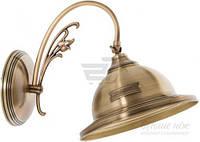 Бра Фабрика Світла Бильярд 1x60 Вт E27 бронзовый НбБ 47-5х60-0213 T30862244