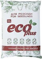 Субстрат торфяной Eco Plus для рассады 10 л T10502713