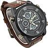Мужские наручные армейские часы AMST Sport Brown (3_7532)