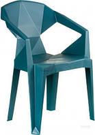 Кресло пластиковое Special4You E0680 MUZE синий T451947