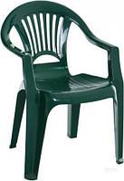 Стул пластиковый Алеана Луч 78x58x57 см зеленый T11015023