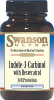 Индол-3-Карбинол (Indole-3-Carbinol) + ресвератрол США 200 мг 60 капс
